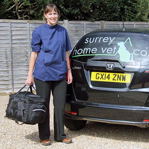 Mobile Vet Surrey - Claire Neuhoff